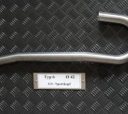 Typ6 Ø42 GS Sport-Kopf